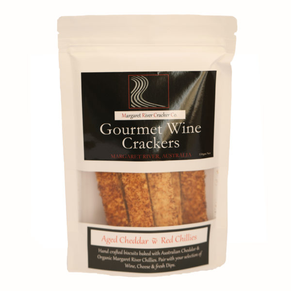 Aged cheddar Chillies crackers