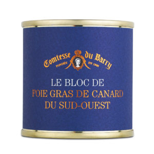 bloc of duck foie gras