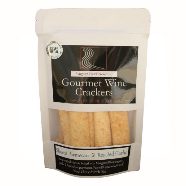 Parmesan Garlic Crackers