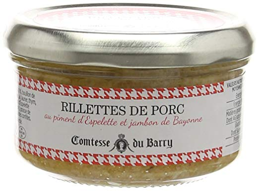 Porc Rillettes Espelette chilli 140g
