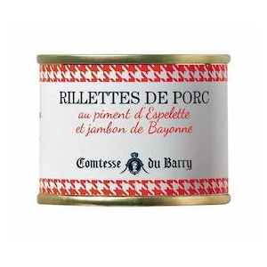 pork rillettes with espelette