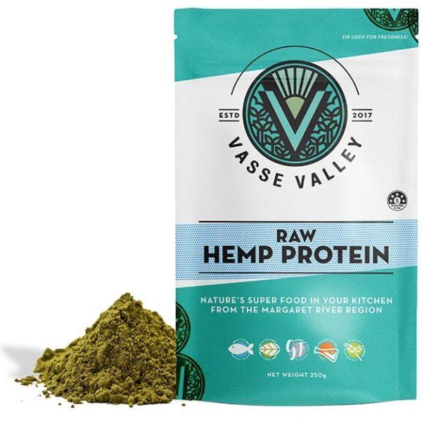 Raw Hemp Seed Protein