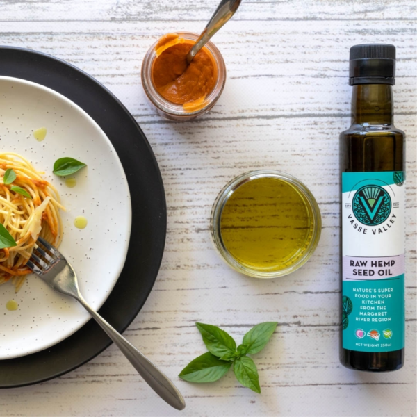 Vasse Valley hemp seed oil