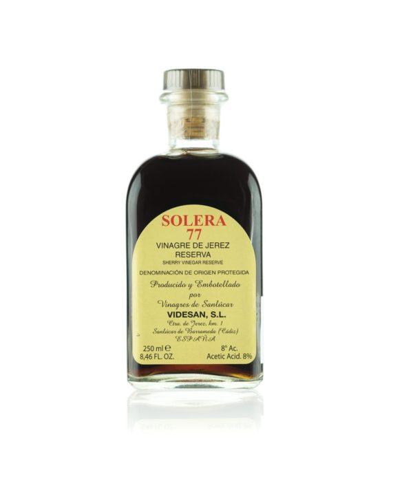 Solera 77 sherry vinegar reserva